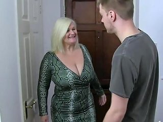 Horny Mature Blonde Lady Got Fucked Hard By Handy Youngster Any Porn