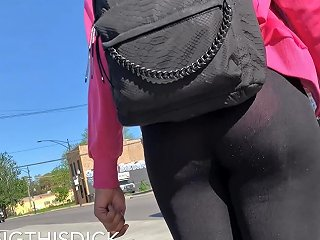Lil Mama Lil Panties See Though Legging