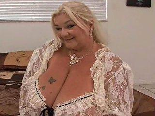 A Fat Old Ass Skank With Big Saggy Tits Sucks Dick