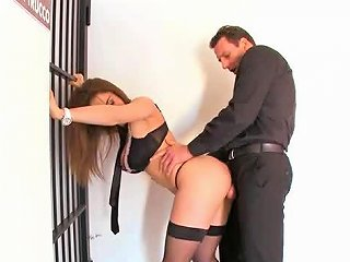 Elevator Sex With Horny Euro Slut Roberta Gemma