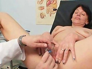 Dirty Gets Her Wet Pussy Checked