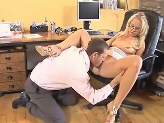 Sexy Blonde Office Babe Gets Her Tight Pussy Finger Fucked Deep Txxx Com