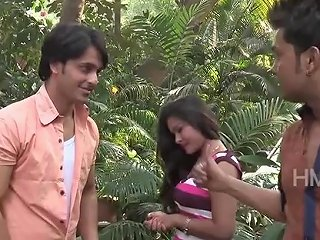 Indian Hot Girl Trapped By Young Boss At Park