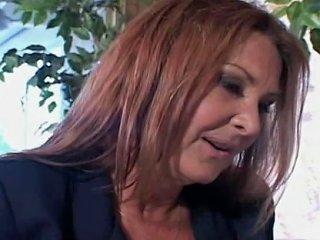 Older Mommy Anastasia Fucks Son's Friend On Sofa Porn Ee