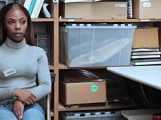 Shoplyfter Hot Ebony Teen Pounded For Stealing Porn E9