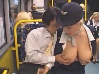 Groping Big Tits In A Bus Free Groping Tits Hd Porn A0