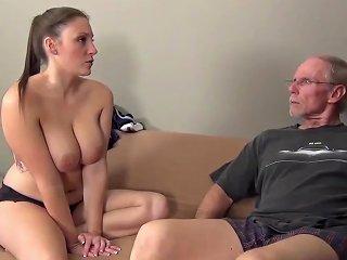 Grandpa Fucks Naughty Teen Girl
