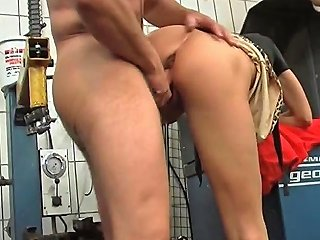 Skinny Old Blonde Slut...