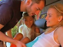 Neat Chick Gets Nailed Doggystyle Scene 17