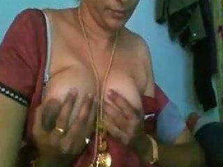 Young Boy Playing With Desi Aunty's Big Boobs Free Porn Db