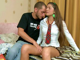 Vera Is A Schoolgirl Whose Anus Needs To Be Bonked With A Cock!