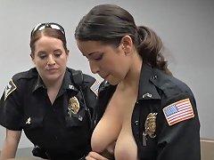Shemale Cop Fucks Guy...