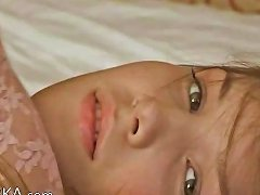 Petite 18yo Girl Pose Herself On Bed