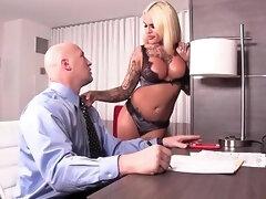 Nadia Love Big Bust Blond Hair Tranny Fuckdoll