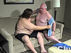 Daddy Is Breaking In A Chubby Cub Nuvid
