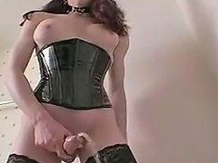 Hottest Homemade Shemale Video With Lingerie Big Tits Scenes Txxx Com