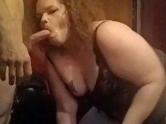 Long Cock Swallowed By Fat Slut Tranny