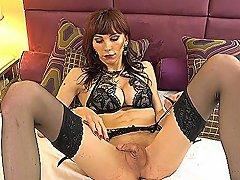 Hot Shemale Dildo With Cumshot Segment Video 4