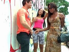 Busty Nubian Ts Giving Outdoor Cocksuck Shemale Porn 8d