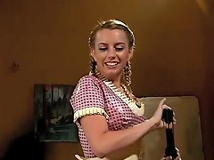 Latex Maid Torture A Latex Dress Wearing Transvestite Pig