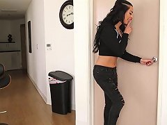 Gorgeous Tranny Chanel Santini Fucked By Black Hd Porn 12