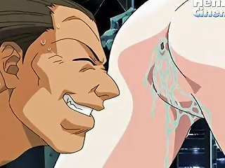 Tiny Hentai Babe Gets Fucked By This Huge Hentai Monster